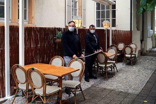 Wie Gastronomen in Badenweiler mit der Wiedereröffnung umgehen