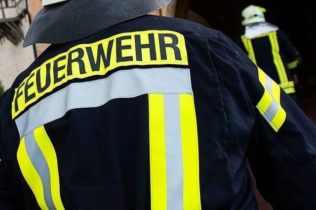 Hoher Sachschaden bei Feuer in Wohnhaus in Glottertal