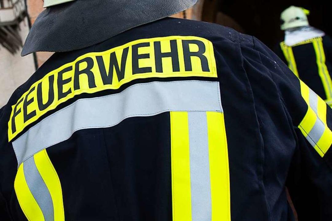 Feuerwehren aus Glottertal, Denzlingen...weiler waren in Glottertal im Einsatz.  | Foto: Swen Pförtner (dpa)
