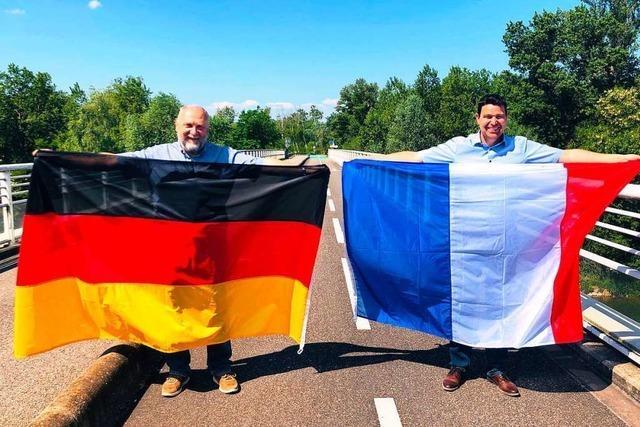 Rhein-Brücke nach Fessenheim wieder offen