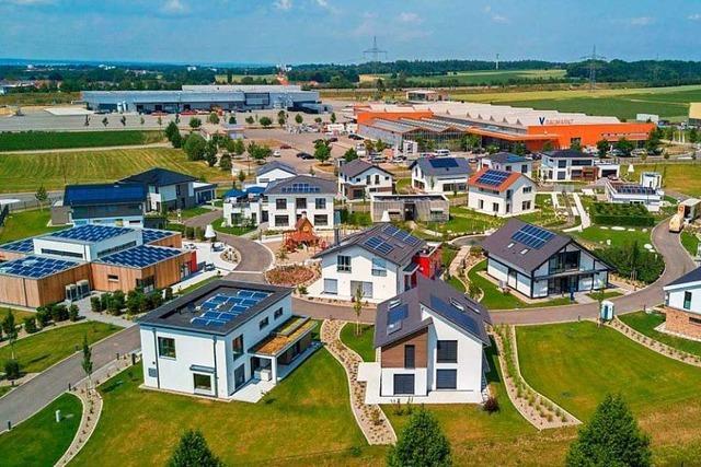 Die geplante Musterhaussiedlung wird kleiner