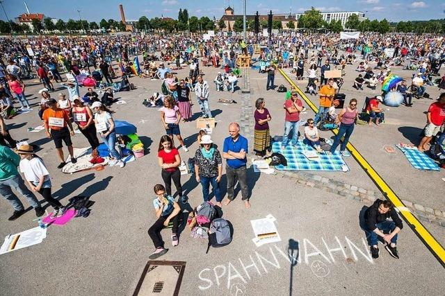 Verwirrung um Stuttgarter Demonstration gegen Corona-Auflagen