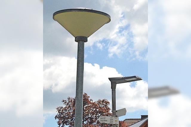 Bernau erhält LED-Leuchten