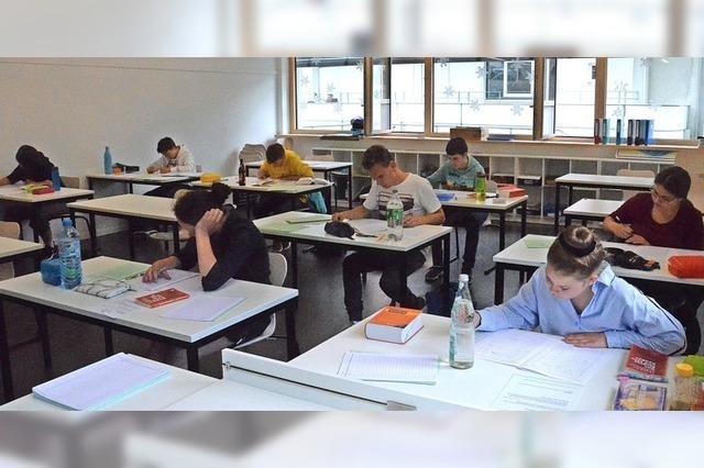 Großer Einsatz für die Prüfungen