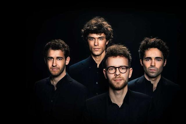 Hören in 3D – das Berliner Vision String Quartet