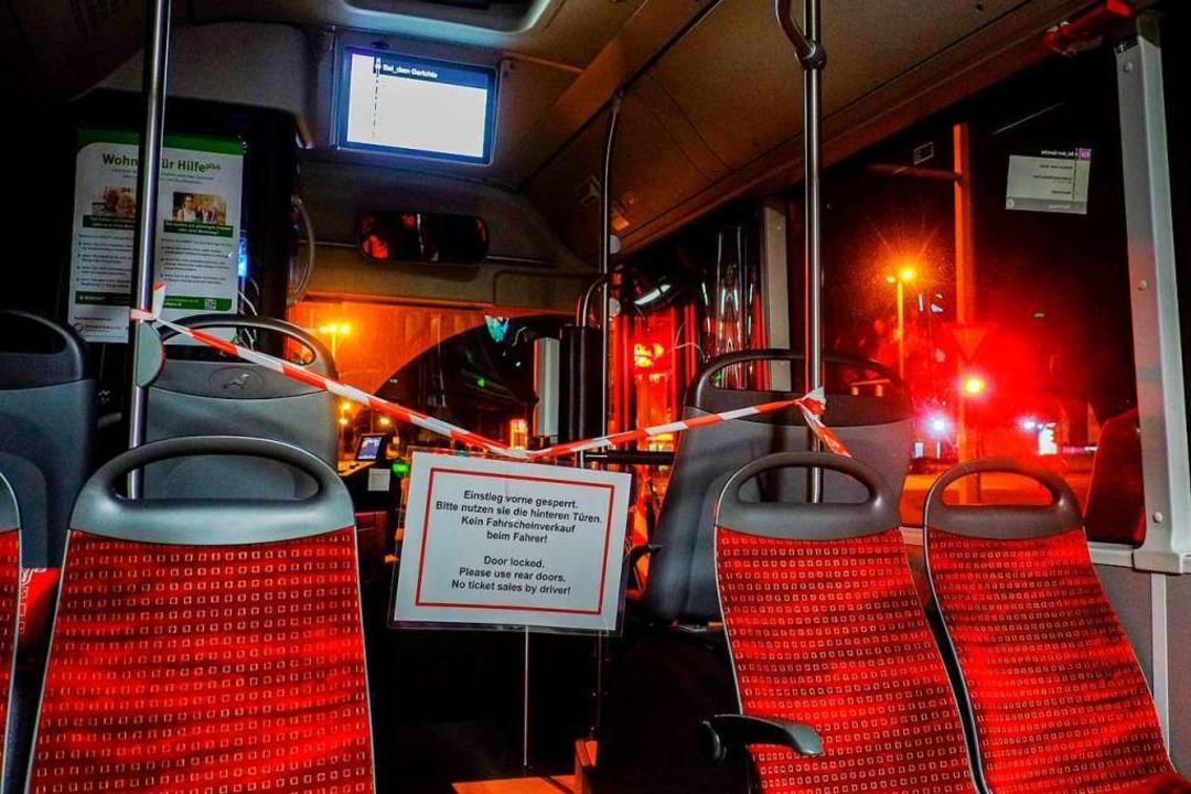Tickets kann man gerade nicht beim Fahrer kaufen (Symbolbild).    Foto: Stefan Jaitner