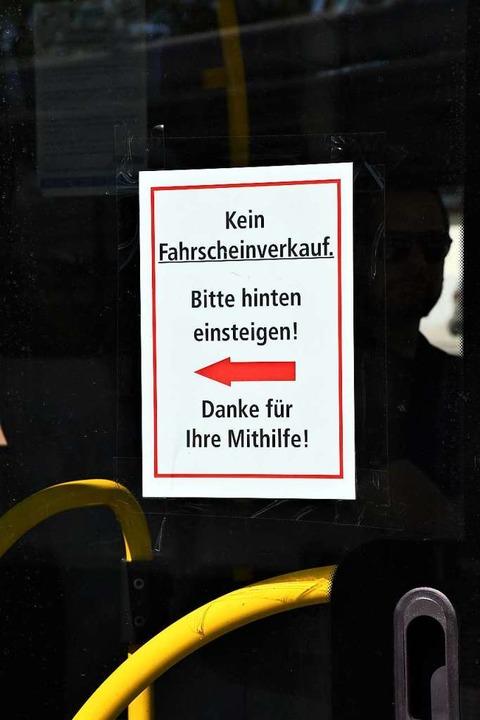 Kein Fahrschein-Verkauf mehr beim Busf... allem im ländlichen Raum ein Problem.    Foto: Barbara Ruda