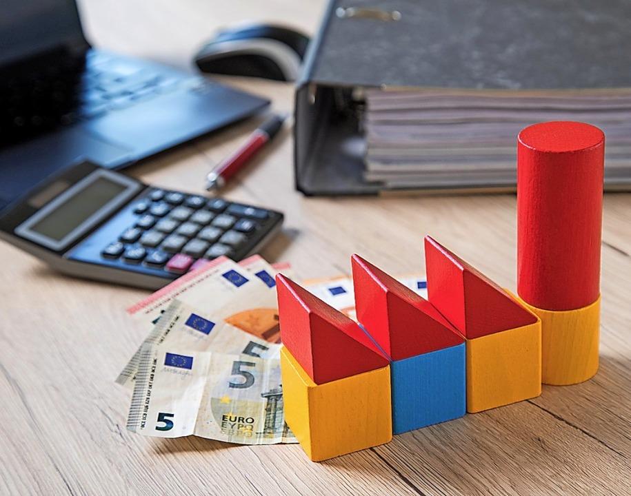 Die Baufinanzierung sollte nicht zu kn...Anschlussfinanzierung Probleme machen.  | Foto: Christin Klose