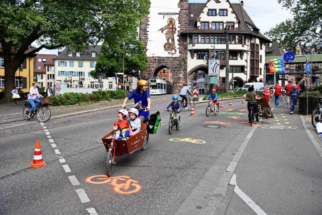 Bereits Ende April richtete die Bürger... dem Schlossbergring ein (Archivbild).  | Foto: Thomas Kunz