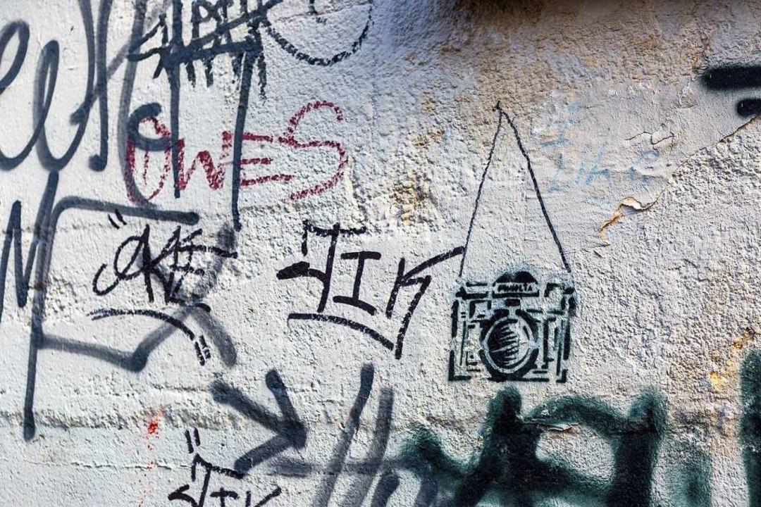 Die Polizei erwischte in Lörrach fünf mutmaßliche Schmierer (Symbolfoto)  | Foto: Carlotta Huber