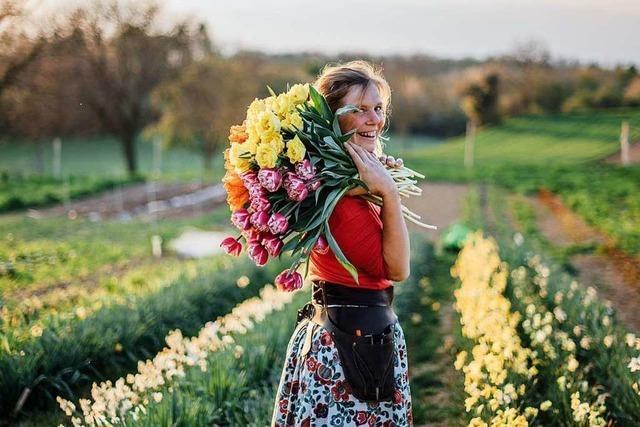 Gründen in der Krise: Gärtnerin Malin Lüth und ihre regionalen Schnittblumen