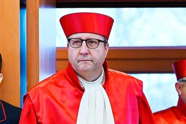 Der Wahlfreiburger Andreas Voßkuhle hat das Bundesverfassungsgericht geprägt