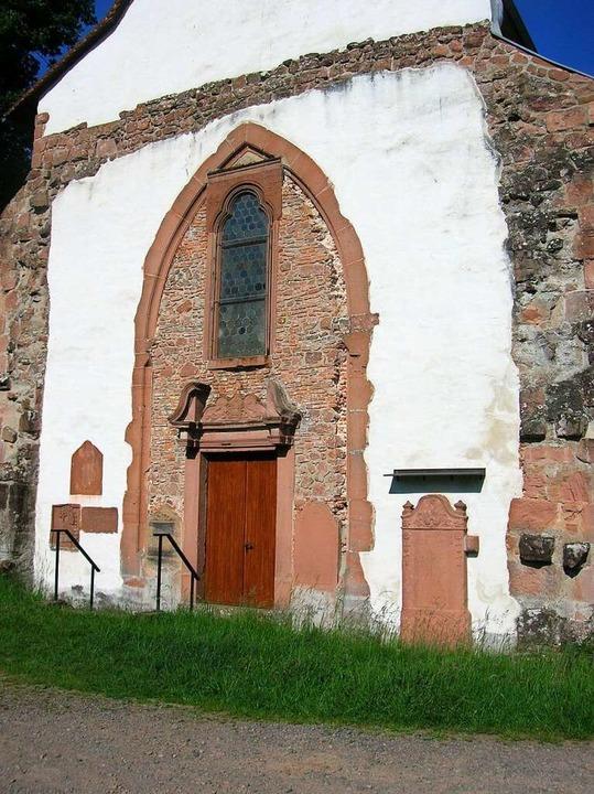 Zugang zur Tennenbacher Kapelle &#8211...t's im Corona-Jahr via Homepage.  | Foto: Sylvia-Karina Jahn