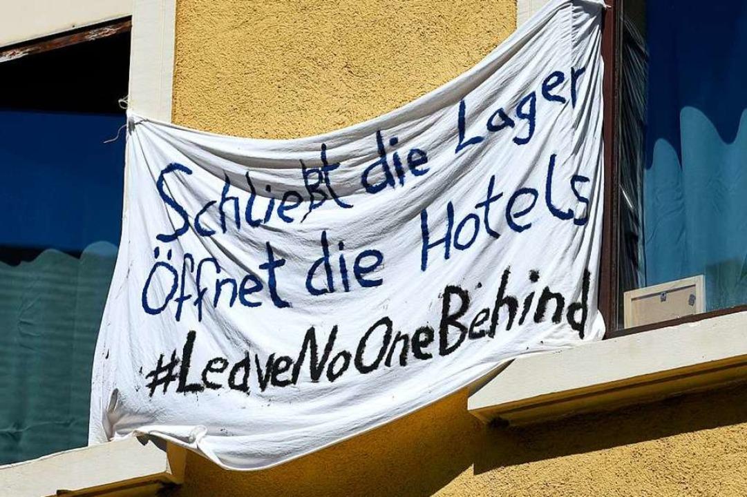 Protest fand in Freiburg vor wenigen W...er von Zuhause aus statt (Archivbild).  | Foto: Thomas Kunz
