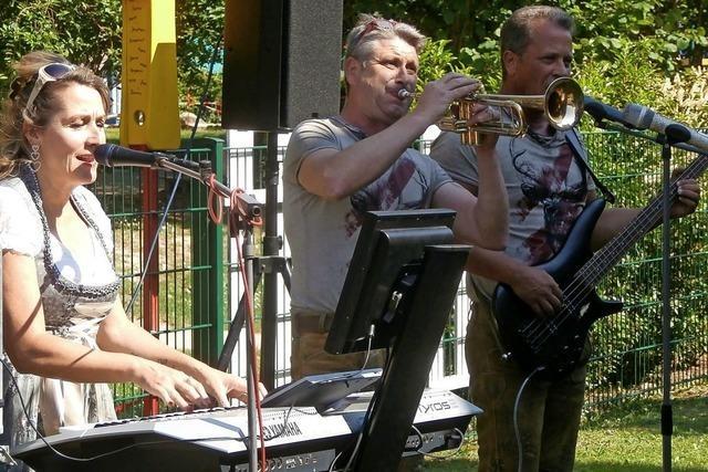 Musiker sorgten für willkommene Abwechslung