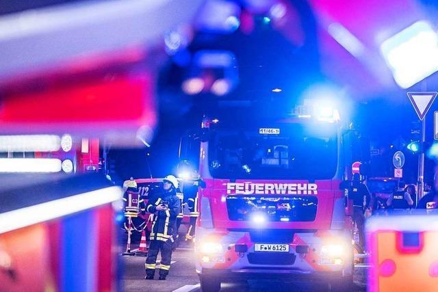 Löscheinsatz in Freiburg schon 15 Minuten nach dem Notruf beendet