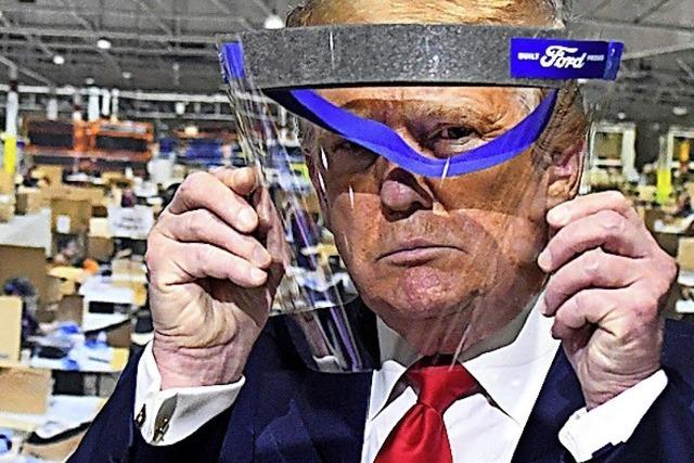 Trump will den Himmel schließen