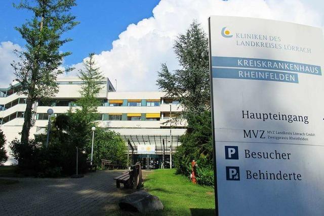 In Rheinfelden sorgt man sich vor einem früheren Aus der Klinik