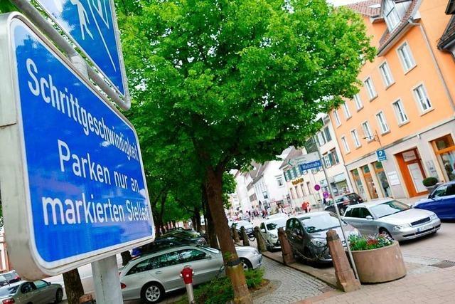 Die Verkehrsberuhigung der Schopfheimer Innenstadt soll forciert werden