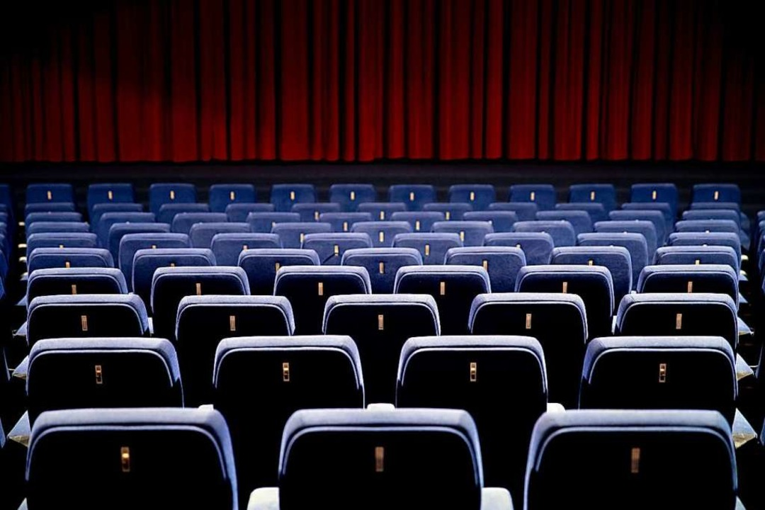 Ein leerer Kinosaal: Mit der Online-Ak...inos in der Krise helfen. (Symbolbild)  | Foto: Christoph Soeder (dpa)