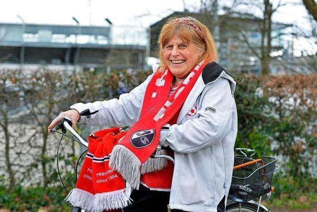 Seit 30 Jahren ist Rita Sartorius die gute Seele am Trainingsplatz