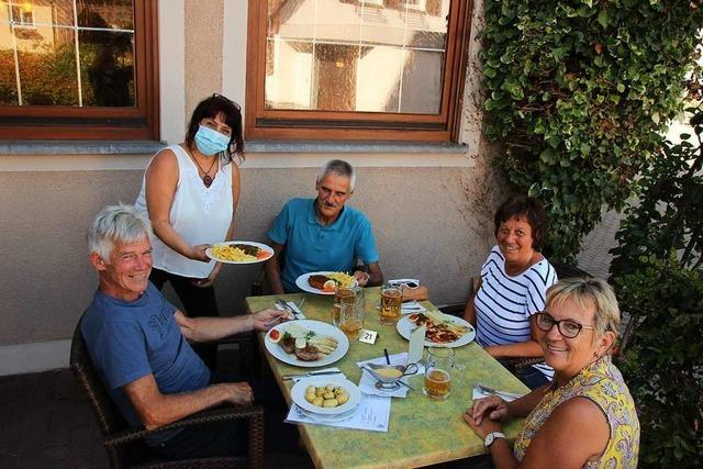 Gastronomie westlich von Freiburg läuft langsam wieder an