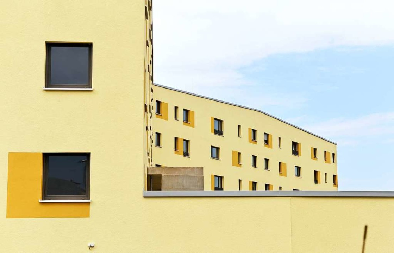 Wohnungen der Stadtbau im Baugebiet Schildacker.  | Foto: Rita Eggstein