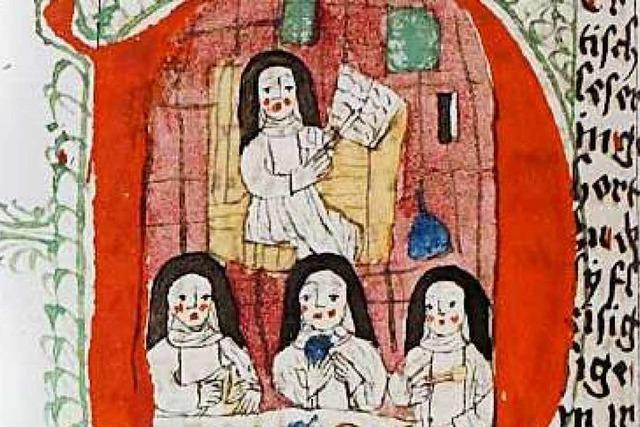 Eine Freiburgerin prägte die Frauenmystik im Mittelalter