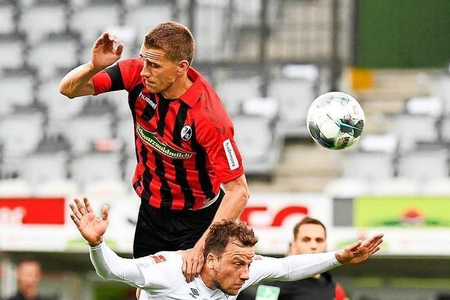 Nils Petersen und die Freiburger Offensive sind beim 0:1 gegen Bremen zu harmlos