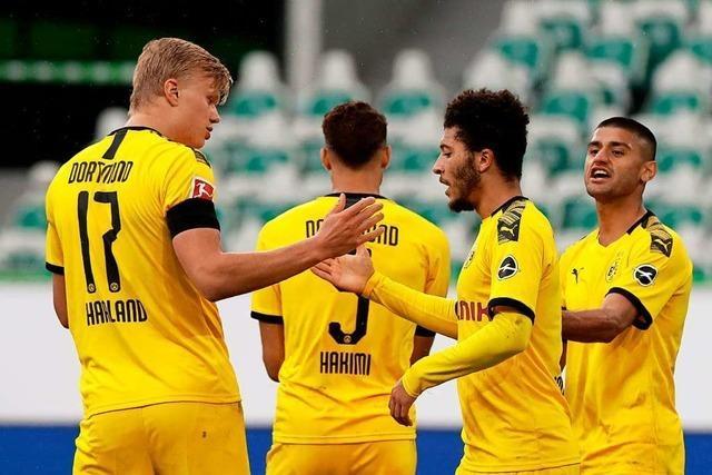 Borussia Dortmund bleibt weiterhin an den Bayern dran