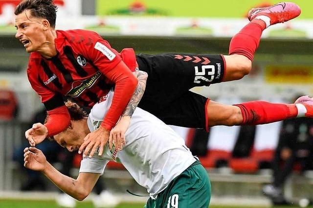 Das erste Geisterspiel im Schwarzwaldstadion geht 0:1 verloren