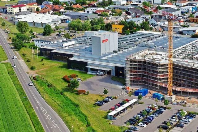Richtfest: Die Ohlsbacher Firma baut eine