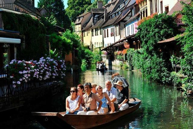 Die Geschichte Colmars lässt sich bei einer Bootstour auf der Lauch erkunden