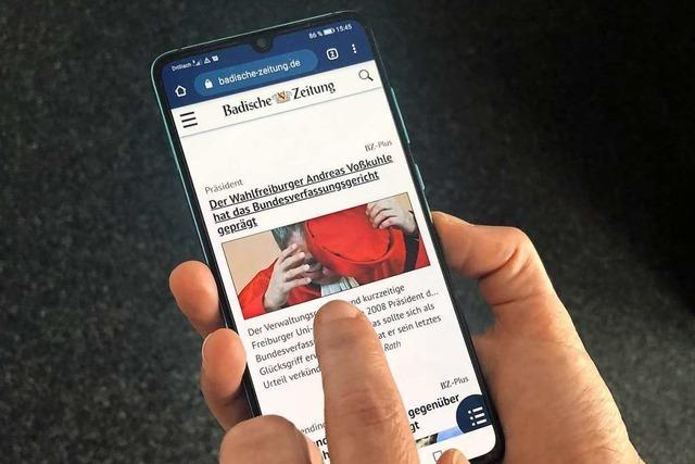 Die Badische Zeitung hat 30.000 Digitalabonnenten
