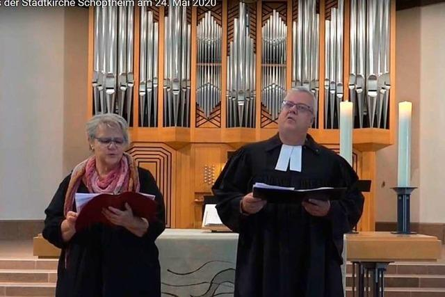 Video: Evangelischer Gottesdienst aus der Stadtkirche Schopfheim am 24. Mai 2020