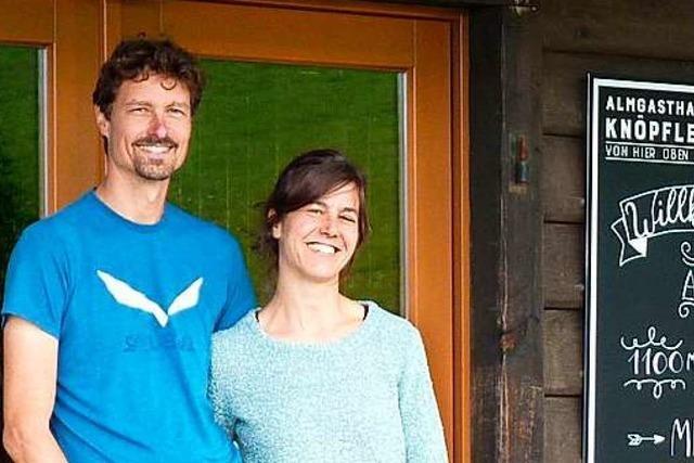Almgasthaus Knöpflesbrunnen hat neue Besitzer - und wieder offen