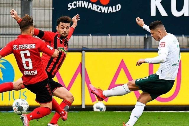 Niederlage im ersten Geister-Heimspiel – dem SC Freiburg fehlt der zwölfte Mann
