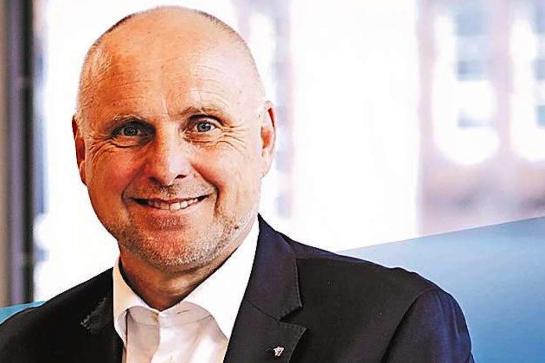 Amtsinhaber und Wahlsieger: Stefan Schlatterer  | Foto: Kai Wudtke