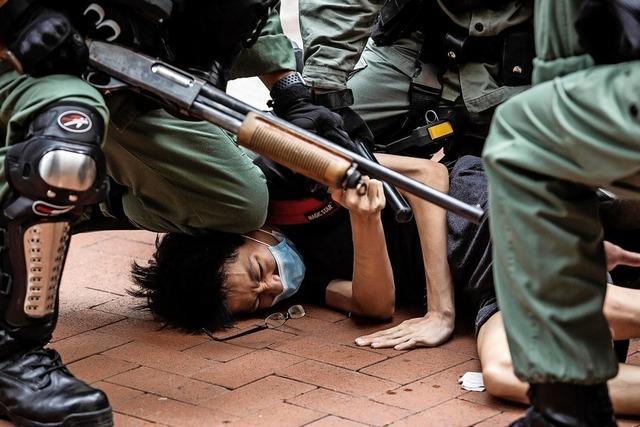 Wieder Massenproteste und Festnahmen in Hongkong