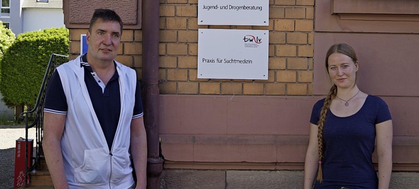 Sozialpädagoge und Suchttherapeut Mich...raxis für Suchtmedizin Kehl/Offenburg.    Foto: Christine Storck-Haupt