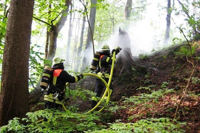 Bewegte 1970er Jahre –Waldbrände, Glatteis und viele Einsätze auswärts