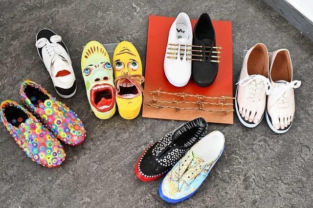 Der Lörracher Verein Bildende Kunst zeigt eine Online-Schuhausstellung