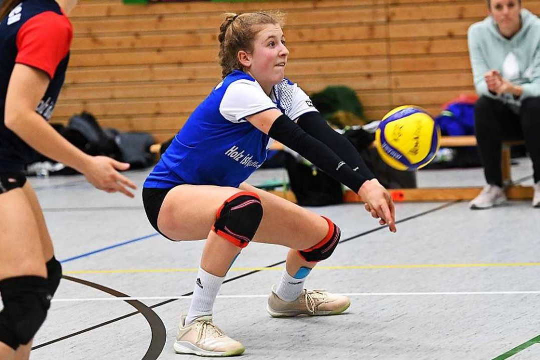 Die 16-jährige Emmendingerin Annika He...fstrebenden Talenten beim VfR Umkirch.    Foto: Achim Keller