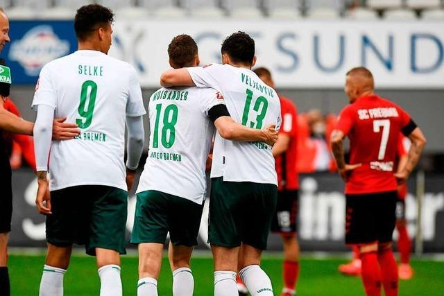Die Freiburger Niederlage gegen Bremen kam nicht wirklich überraschend