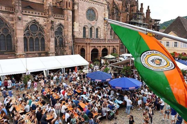Freibuger Weinfest und Rathausplatzhock sind abgesagt