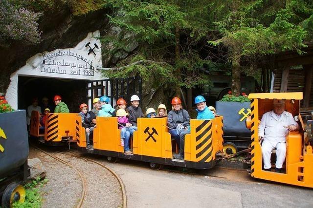 Das Besucherbergwerk Finstergrund öffnet an Pfingsten