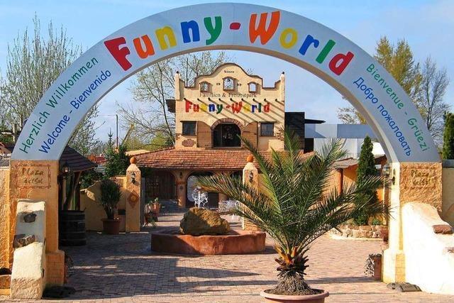 Neue Attraktion im Freizeitpark Funny World
