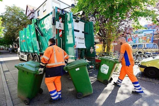Manche Freiburger müssen ihren Müll bald zu Sammelpunkten bringen