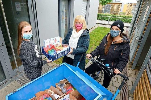 Sozialdienst hilft Freiburger Familien mit Essenspaketen