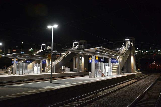 Mann wird in Weil am Rhein vom Zug erfasst und stirbt